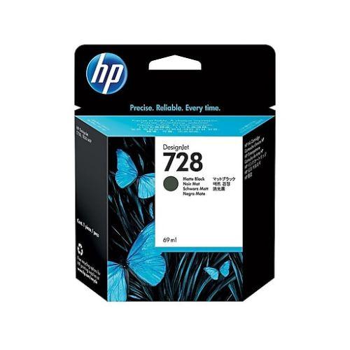 HP 727 Matte Black Standard Capacity Ink Cartridge 300ml - C1Q12A