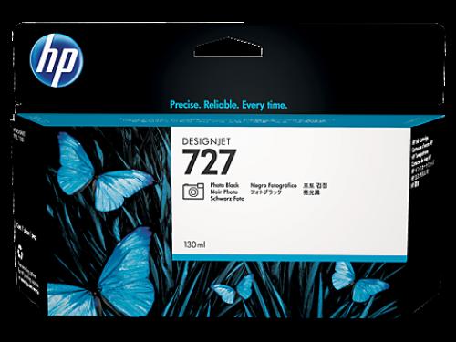 HP B3P23A 727 Bright Black Ink 130ml