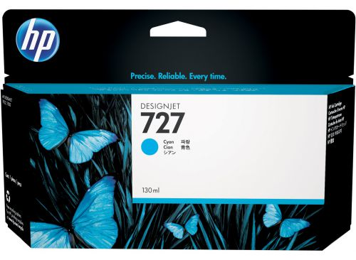 HP B3P19A 727 Cyan Ink 130ml