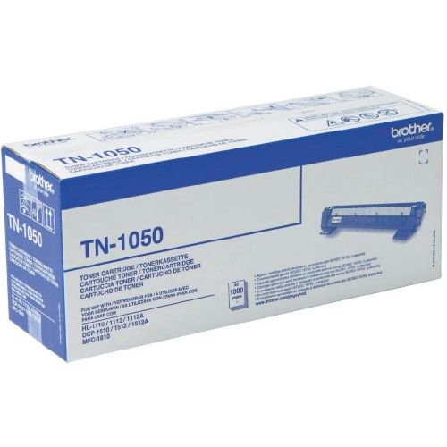 OEM Brother TN-1050 Black 1000 Pages Original Toner