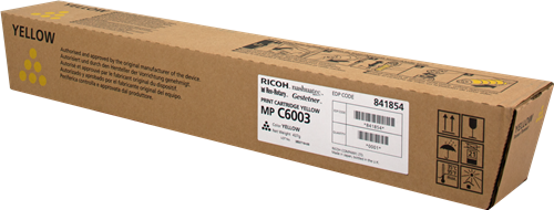 Ricoh MPC5503 Yellow Toner 841854 (Yield: 22,500 Pages)