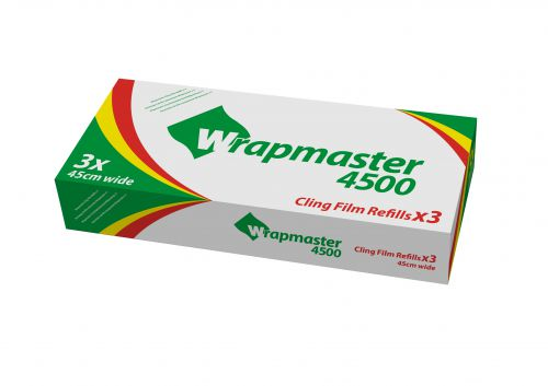 Wrapmaster Clingfilm Refills 450mm x 300M (Pack 3)  0505003