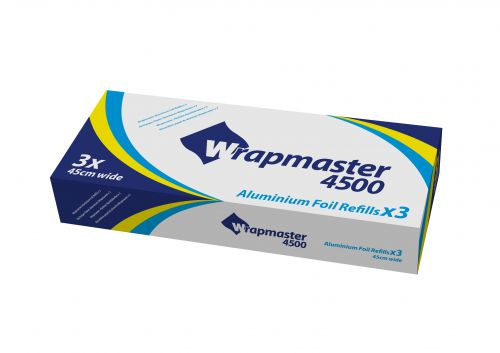 Foilmaster Refill 450mm x 90m (Pack 3) 0505009
