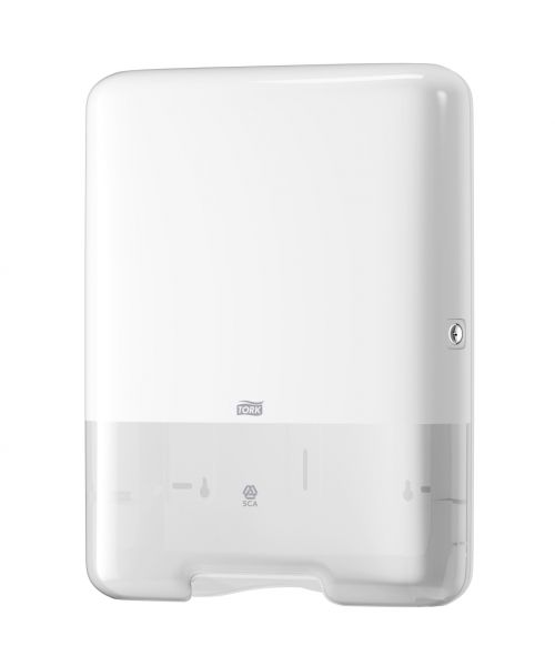 Tork 553000 H3 Singlefold/C-Fold Hand Towel Dispenser White