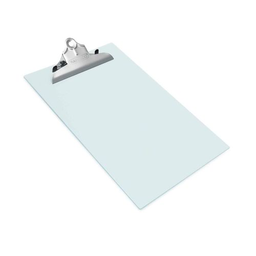 Rapesco Heavy Duty Frosted Transparent Clipboar A4 Clear