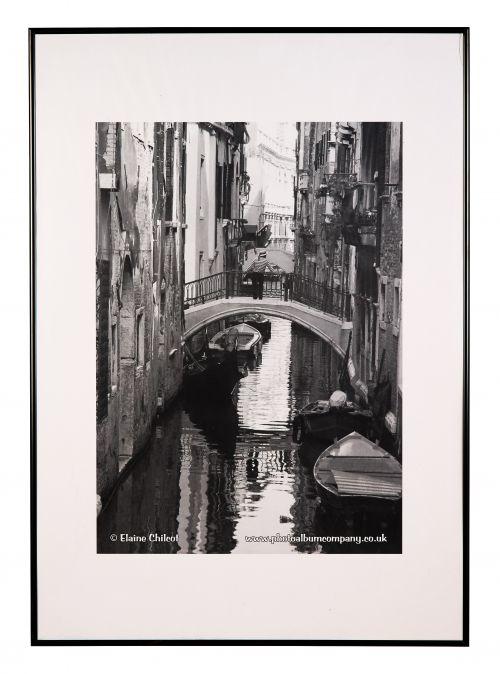 Photo Album Co Certificate A3 Black Aluminium Frame