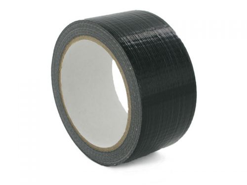 ValueX Waterproof Cloth Tape 48mmx50m Black (Pack 1)