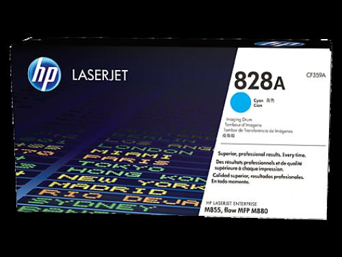HP 828A Cyan Standard Capacity Drum 30K pages for HP Color LaserJet Enterprise M855/M880 - CF359A