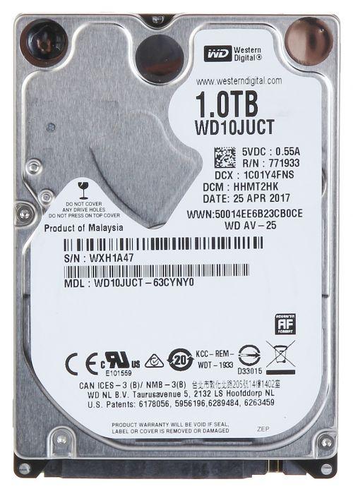 WD 1TB Av25 2.5 Inch B Sata Internal Hdd