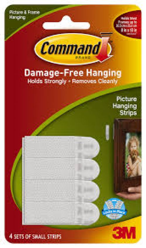 Command Picture Hanging Strips Small Ref 17202 Pack 4