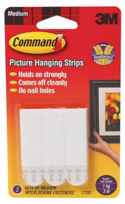 Command Picture Hanging Strips Medium Pack 4