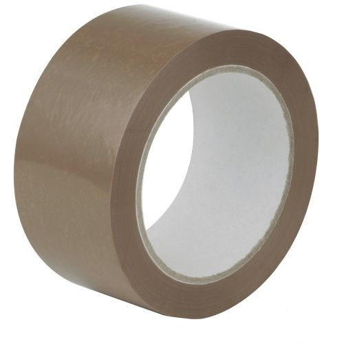 ValueX Buff Packaging Tape 48mmx66m PK6