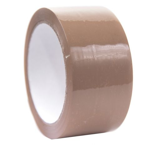 ValueX Low Noise Packing Tape 48mm x 66m Brown (Pack 6)