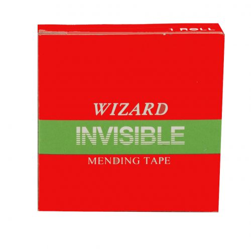 ValueX Wizard Clear Invisable Tape 24mm X 66m (Pack 6)