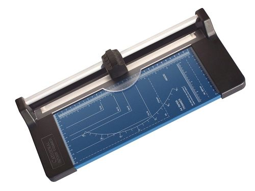 ValueX Precision Rotary Paper Trimme A4 Cutting Length 320mm Blue