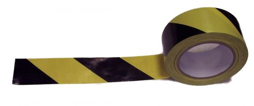 ValueX Lane Marking Tape 50mmx33m Black/Yellow