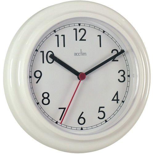 Acctim Stratford Wall Clock 23cm White