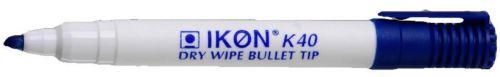 Langstane Dry Wipe Marker Bullet Tip Blue 860203 [Box 10]