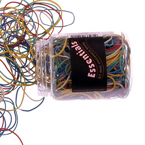 ValueX Rubber Bands Asstorted Colours and Sizes 75g