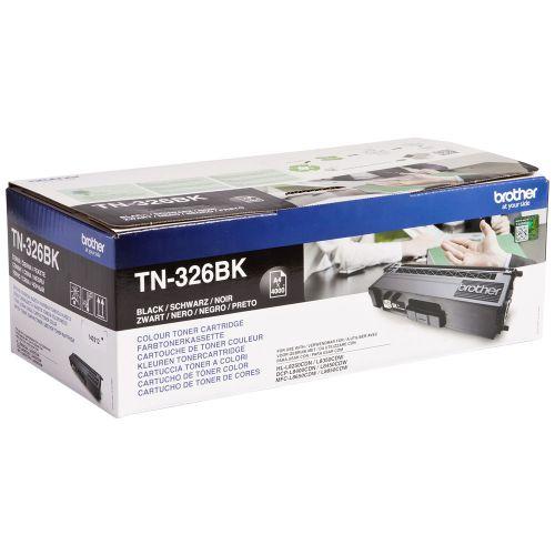 OEM Brother TN-326BK Black 4000 Pages Original Toner