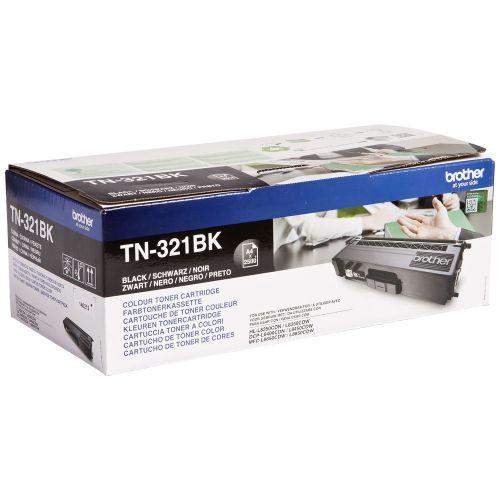 OEM Brother TN-321BK Black 2500 Pages Original Toner