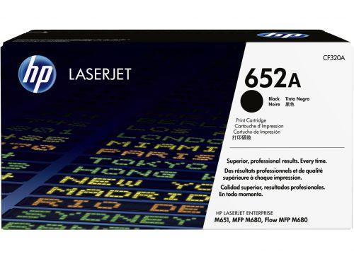HP CF320A 652A Black Toner 11.5K