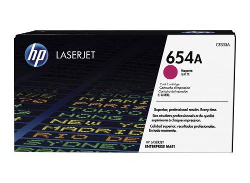 HP CF333A 654A Magenta Toner 15K