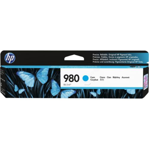 HP D8J07A 980 Cyan Ink 87ml