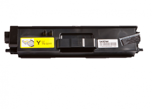 OEM Brother TN-321Y Yellow 1500 Pages Original Toner