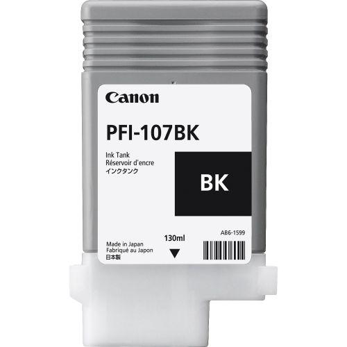 Canon 6705B001 PFI107 Black Ink 130ml
