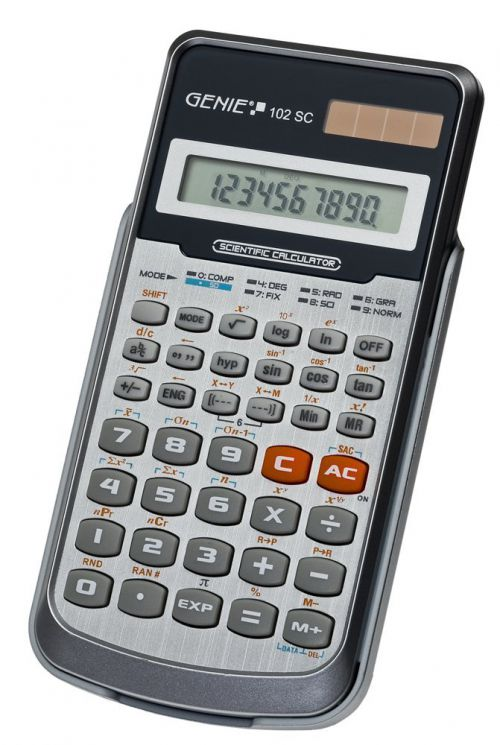 Value Genie 102 SC scientific calculator 11262