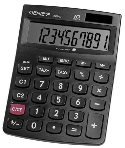 Value Genie 205MD 10-digit desktop calculator 12030