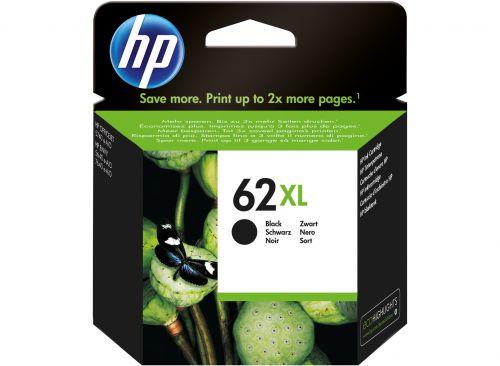 HP 62XL Black Standard Capacity Ink Cartridge 12ml - C2P05AE