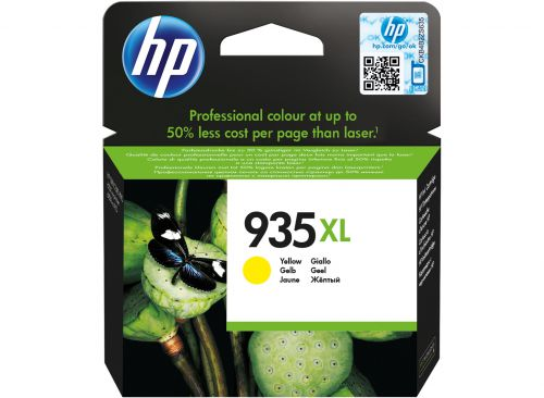 HP 935XL Yellow High Yield Ink Cartridge 10ml for HP OfficeJet Pro 6230/6830 - C2P26AE
