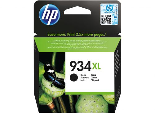 HP 934XL Black High Yield Ink Cartridge 26ml for HP OfficeJet Pro 6230/6830 - C2P23AE
