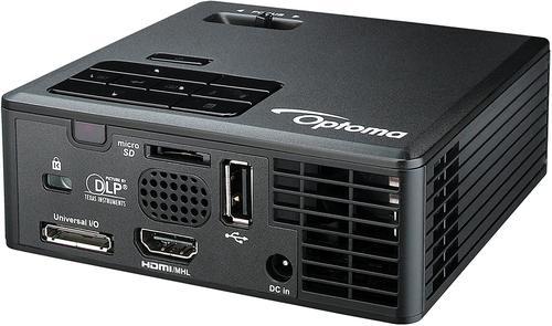 Optoma ML750E Ultra Compact Projector WXGA Black 98.8ua02gc1e - OP60025
