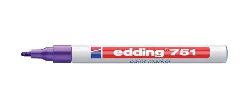 Edding 751 Paint Marker Blue PK10