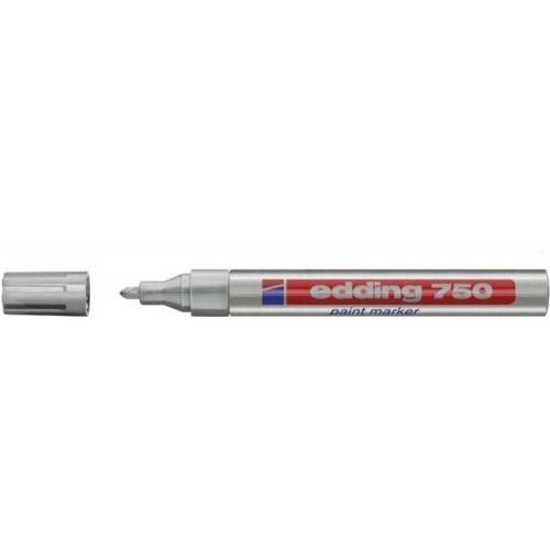 Edding 750 Paint Marker Silver PK10