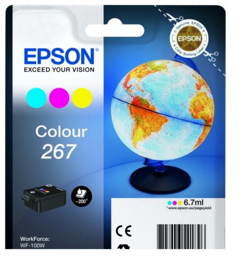Epson C13T26704010 267 Black Ink 7ml