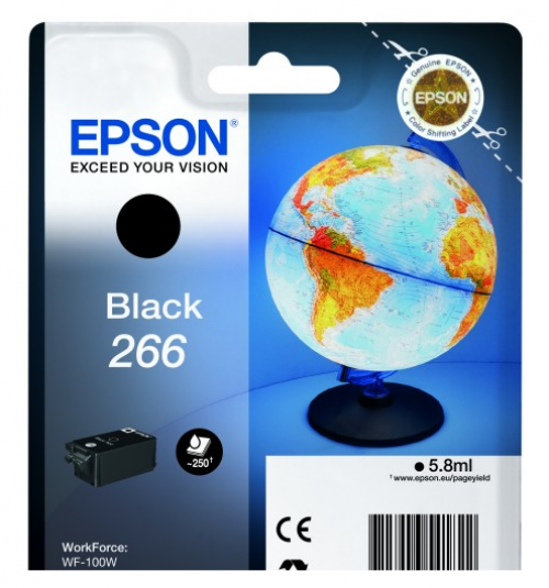 Epson C13T26614010 266 Black Ink 6ml