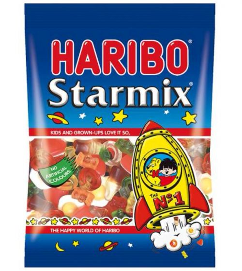 Haribo Starmix Sweets 160g Bag