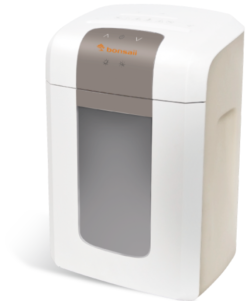 Bonsaii 4S16 Micro Cut Shredder 16L White