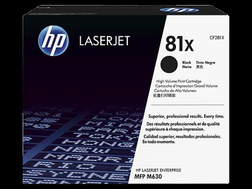HP CF281X 81X Black Toner 25K