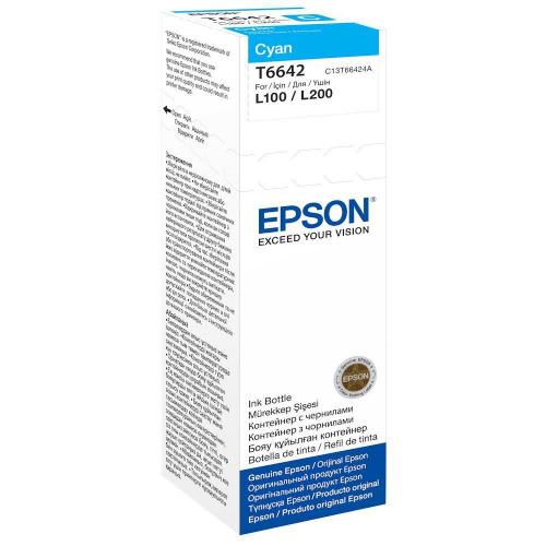 Epson C13T664240 664 Cyan Ink 70ml