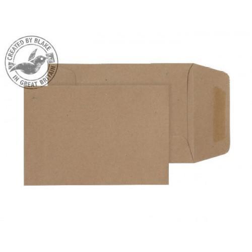 Blake Purely Everyday Pocket Envelope 98x67mm Gummed Plain 80gsm Manilla (Pack 100)