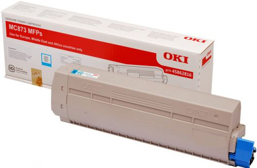 OKI 45862816 Cyan Toner 10K