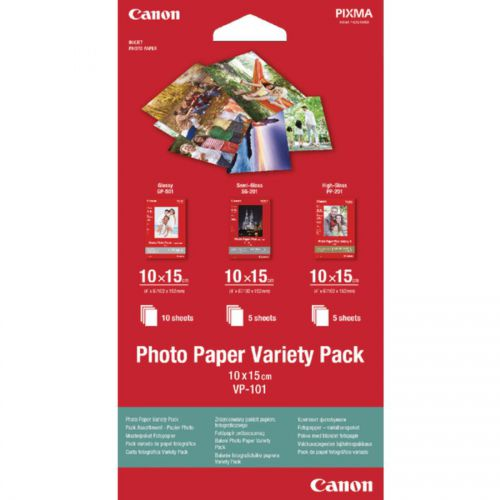 Canon Photo Paper Variety Pack 10X15