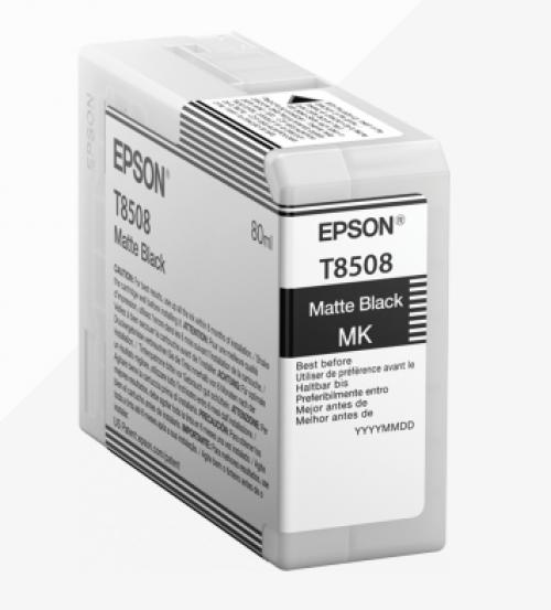 Epson C13T850800 T8508 Matte Black Ink 80ml