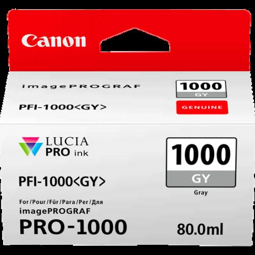 Canon 0552C001 PFI1000 Grey Ink 80ml