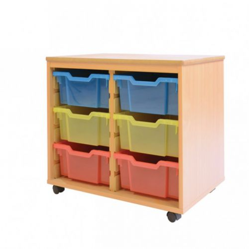 Best Value 6 Deep Tray Unit Mobile Choice of 19 Colours